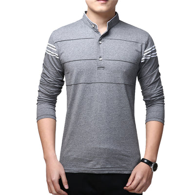 Spring Fashion Long Sleeves Casual T-shirt