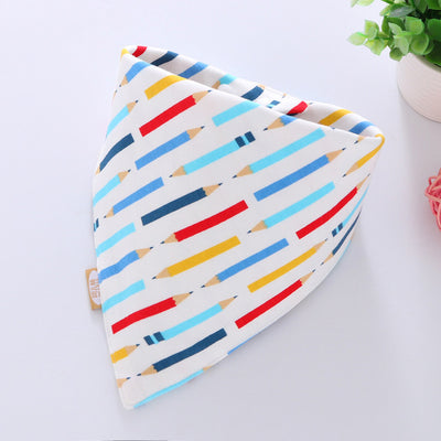 Cartoon Saliva Towel Baby Eating Accessory