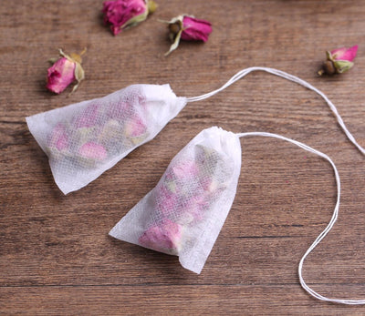 Empty Scented Tea Bags With String Heal Seal Filter Paper