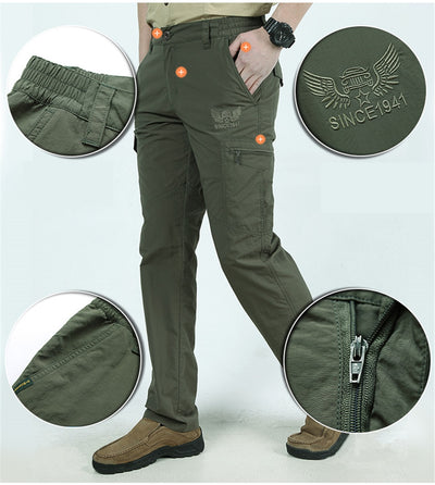 Outdoor Pants Men Camping Hiking Waterproof Pants