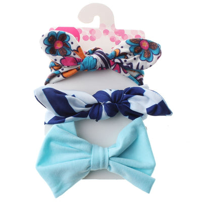 3Pcs Cute Rabbit Ear Baby Headband