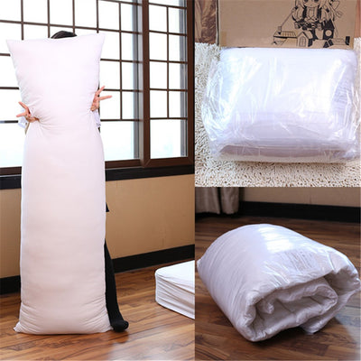 Long Pillow Inner White Body Cushion Bedding Accessories