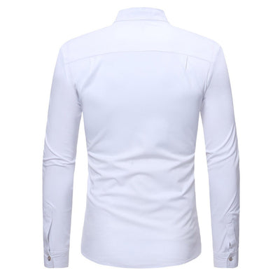 Men's Slim Zipper Summer Casual T-Shirt
