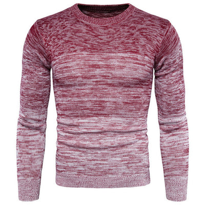 Round Neck Warm Sweater Long Sleeve Pullover Sweater