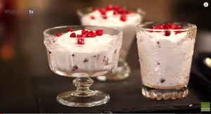 Pomegranate and Honey Mousse | Waitrose
