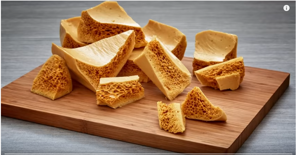 Sponge Toffee Honeycomb Recipe