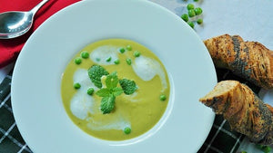 Recipe: Spring Sweet Pea and Mint Soup