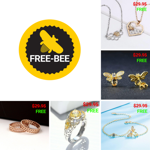 Free-bee Friday Example Products