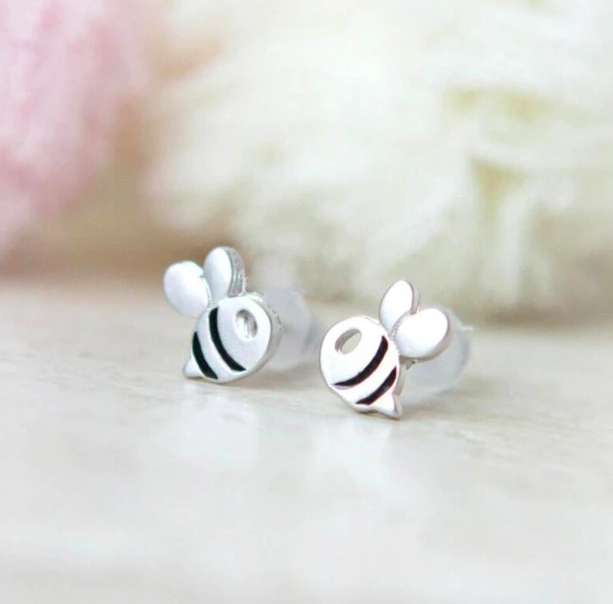 Baby Bumblebee Earrings