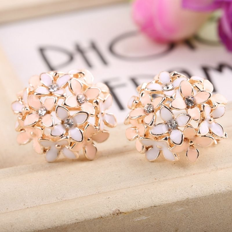 Floral Arrangement Earrings