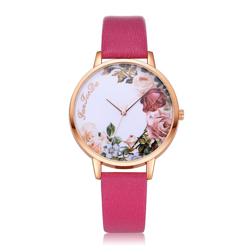Simple Floral Watch