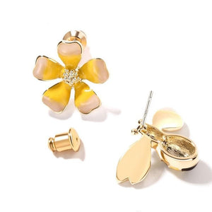 Limited Edition Honeybee and Flower Earrings