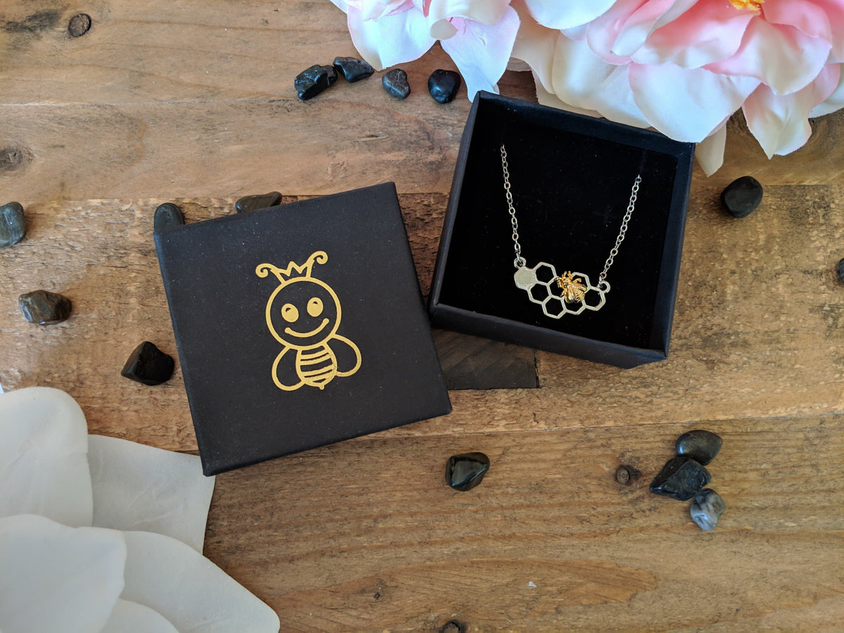 Free Limited Edition Honeycomb Necklace (Free-Bee Friday)