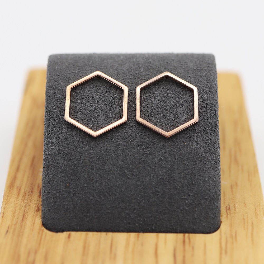 FREE Minimalistic Honeycomb Earrings (Just Pay S&H)