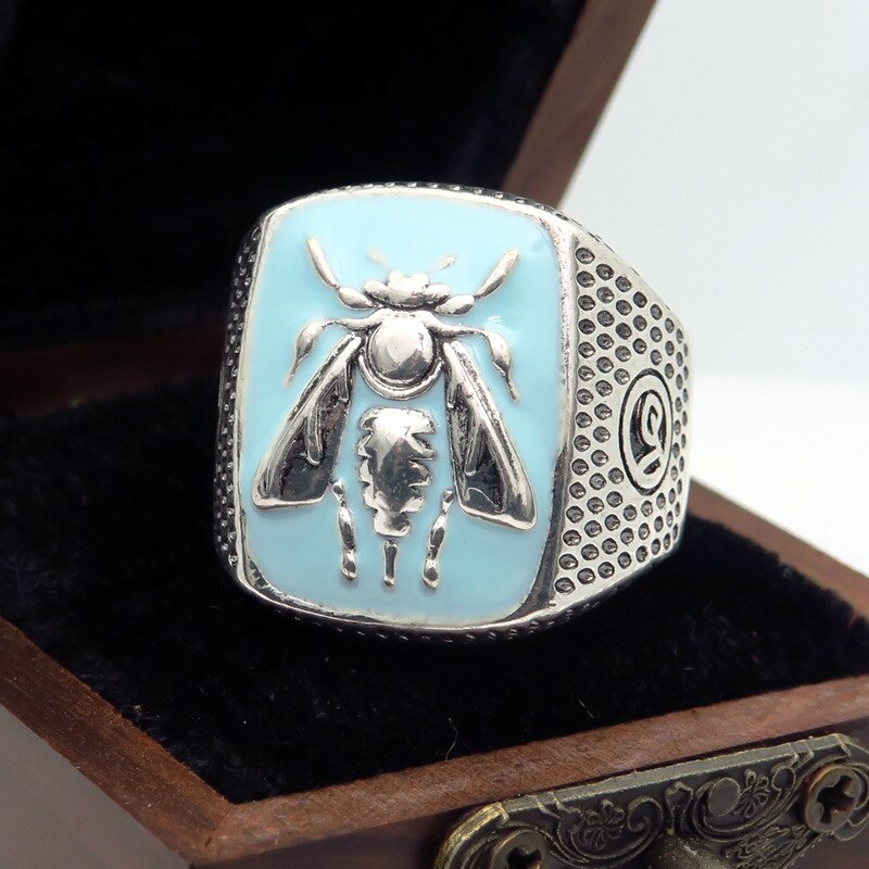 Signet Bee Ring