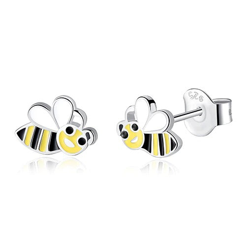 Cartoon Bee Earrings