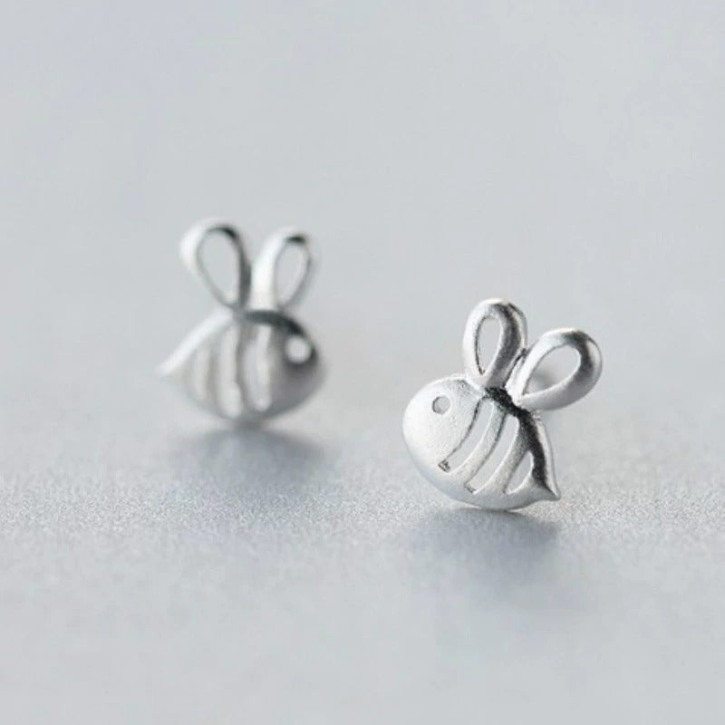 Contemporary Baby Bee Earrings