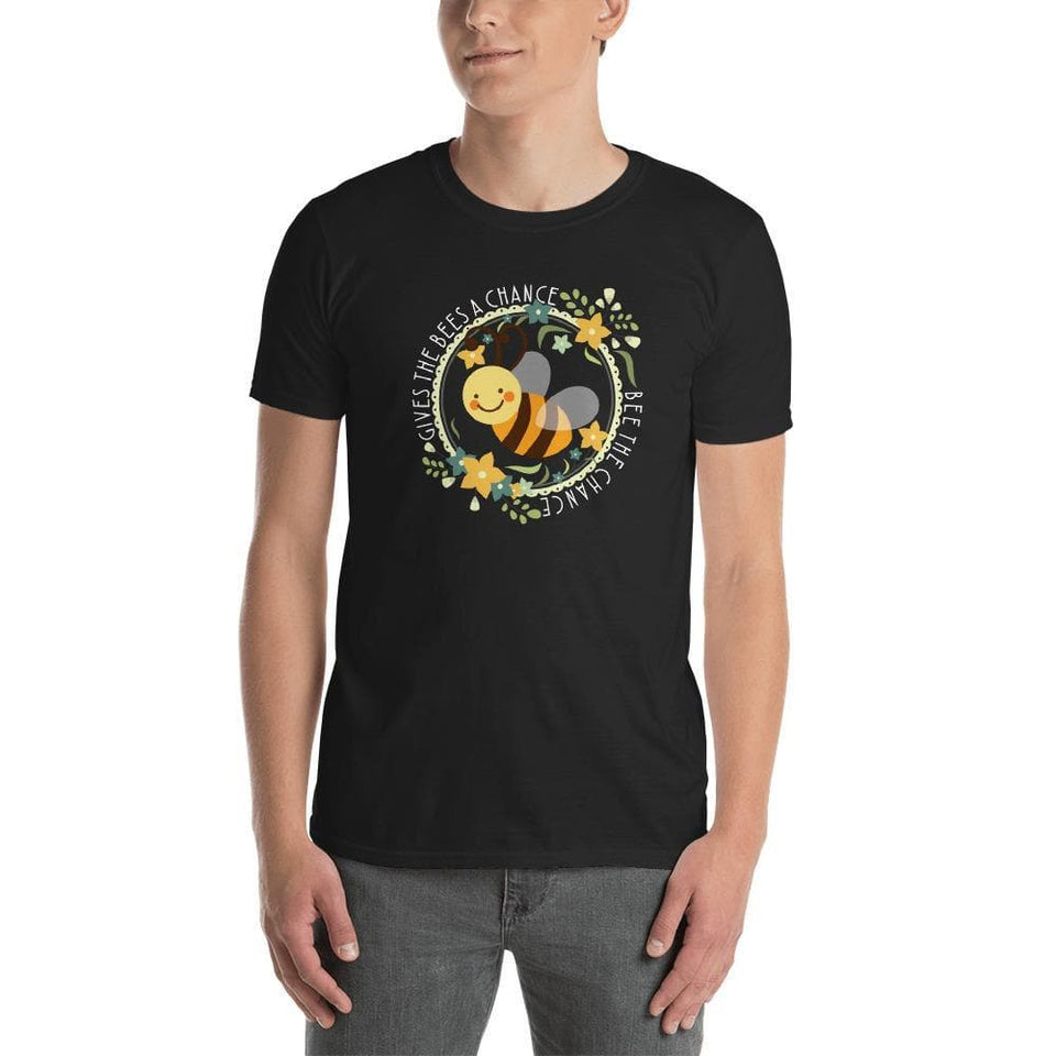 """Give Bees A Chance"" Short-Sleeve Unisex T-Shirt"