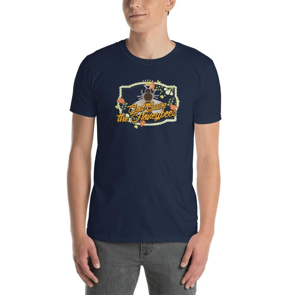 """God Save The Honeybees"" Short-Sleeve Unisex T-Shirt"