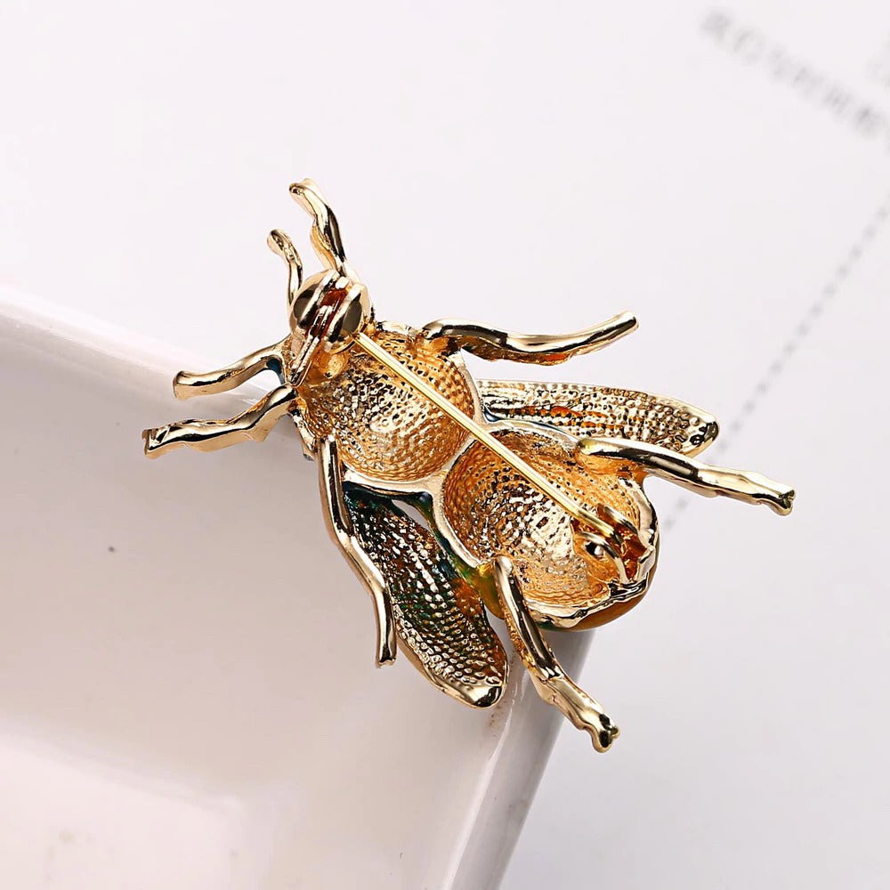 Large Bee Brooch