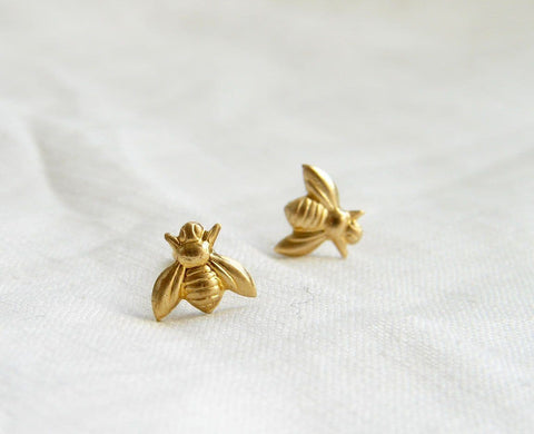 Image of Limited Edition Bee Stud Earrings