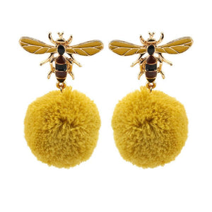 Limited Edition Bulb Bee Earrings