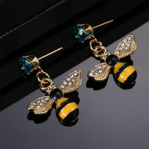 Limited Edition BumbleBee Studded Earrings