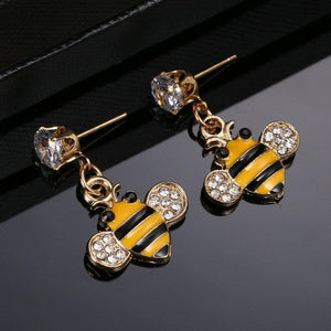 Limited Edition Honeybee Studded Earrings