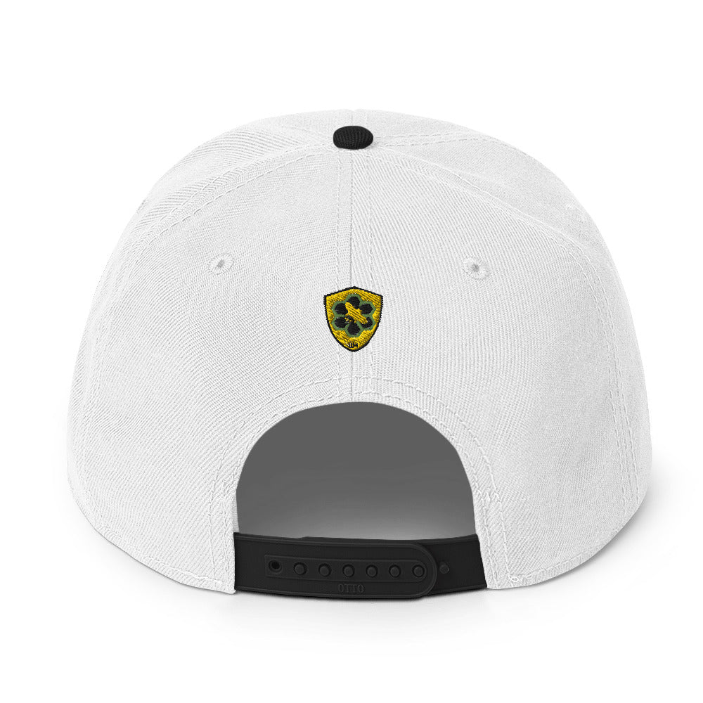 Bee Mission Snapback Hat