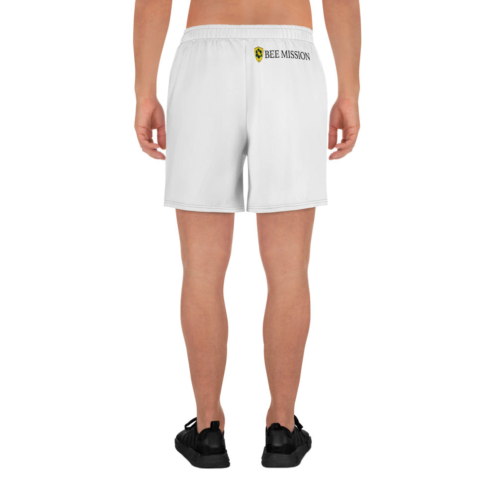 Bee Mission Men's Shorts - White