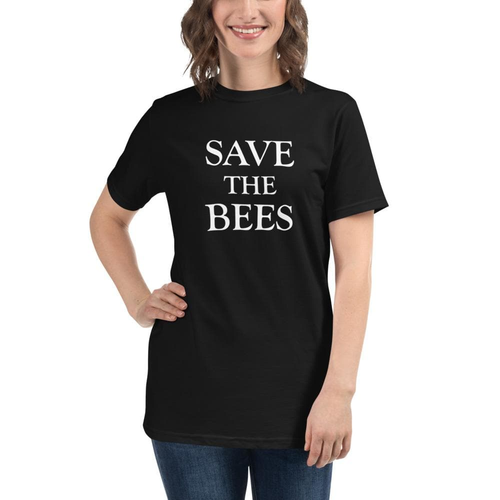 Save the Bees Organic T-Shirt - White
