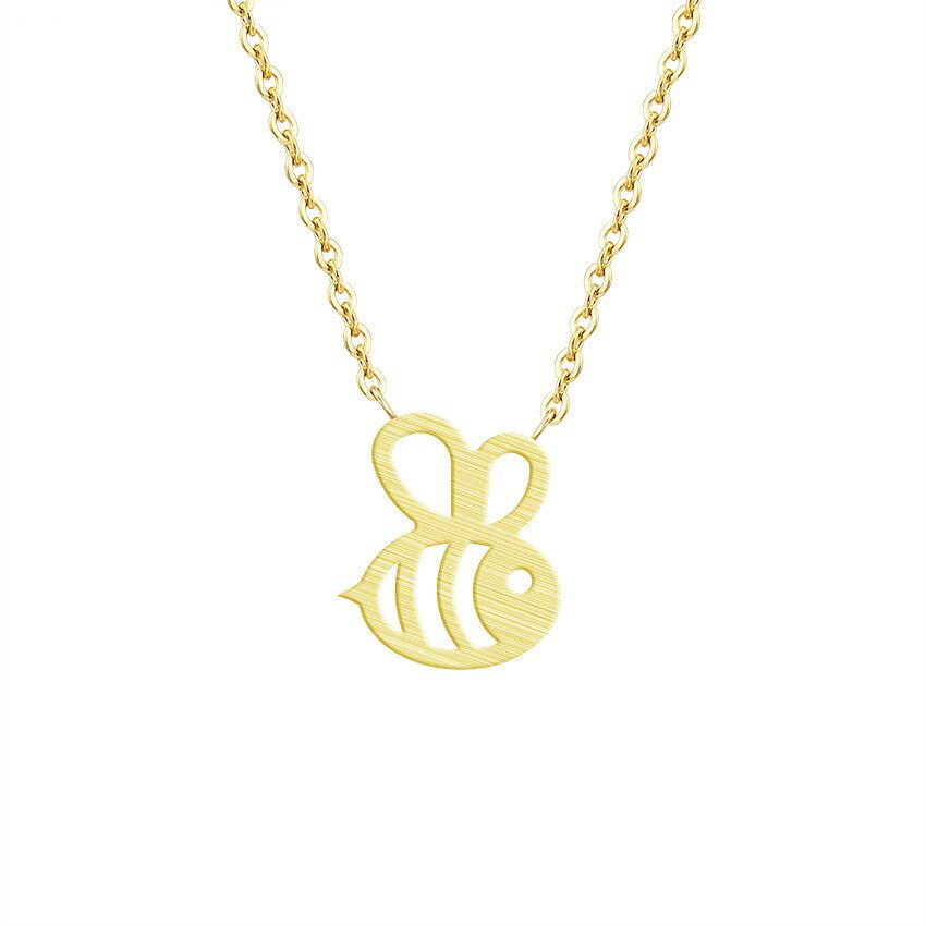 Contemporary Baby Bee Necklace