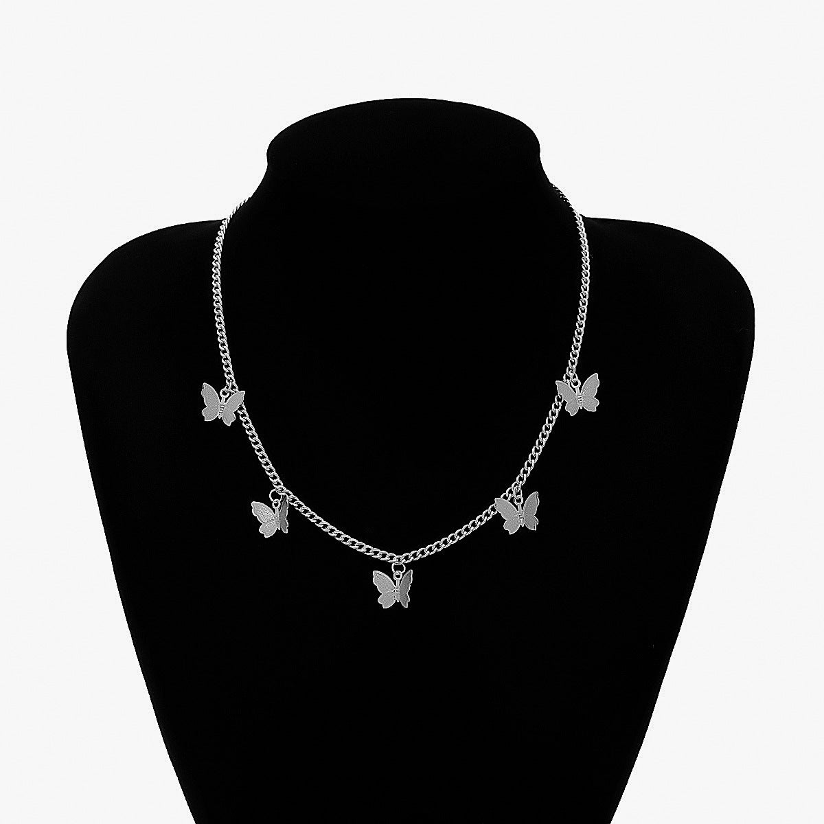 Beautiful Butterfly Choker Necklace