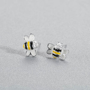 Limited Edition Bumble Bee Stud Earrings