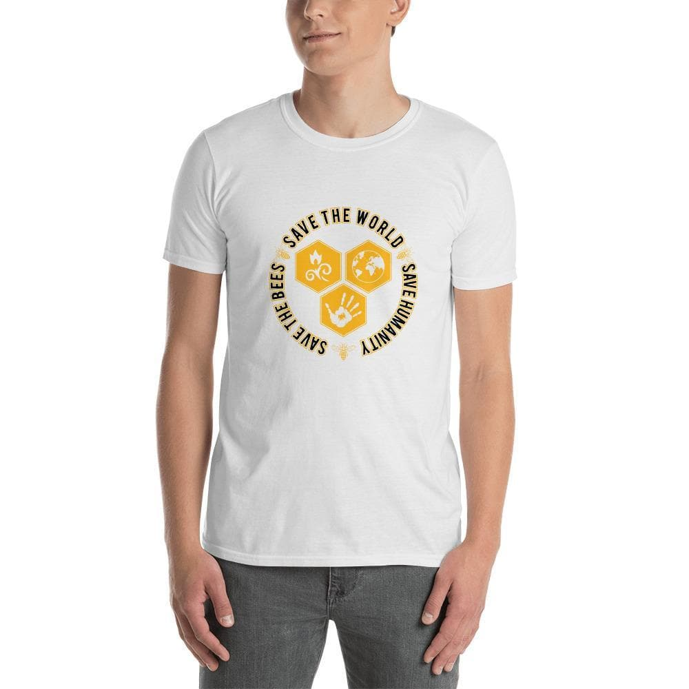Save The Bees Short-Sleeve Unisex T-Shirt