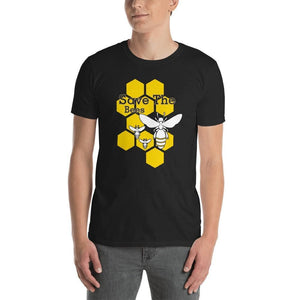 """Save The Bees"" Short-Sleeve Unisex T-Shirt"