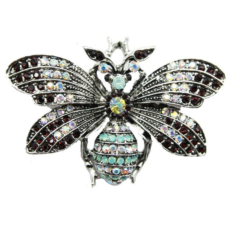 Antique Ornate Queen Bee Brooch