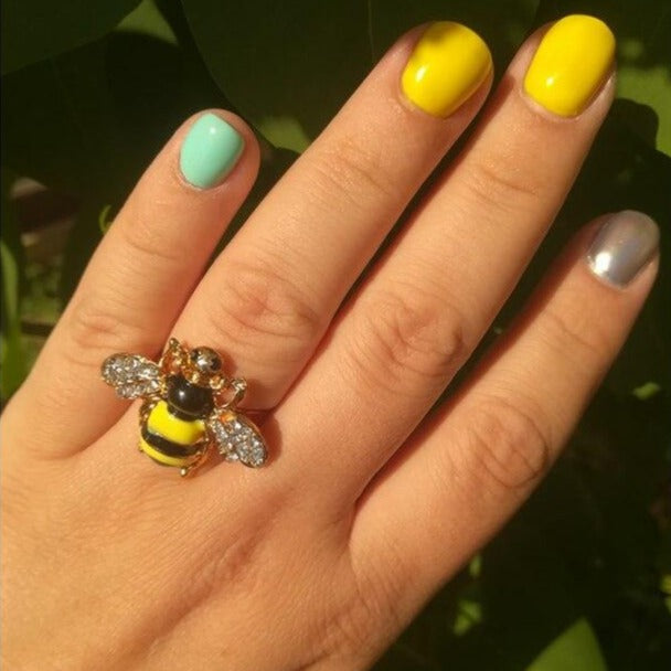 Bee Brooch Ring
