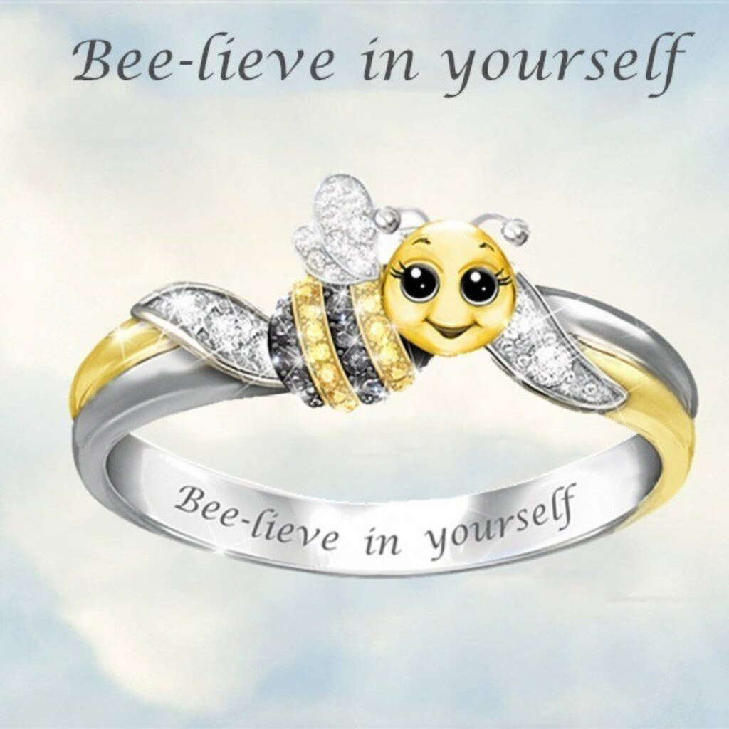 Bee-lieve In Yourself Ring