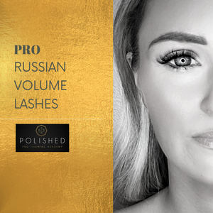 Russian Volume Lash Extensions Training