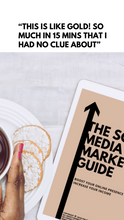 Load image into Gallery viewer, The Social Media Marketing Guide