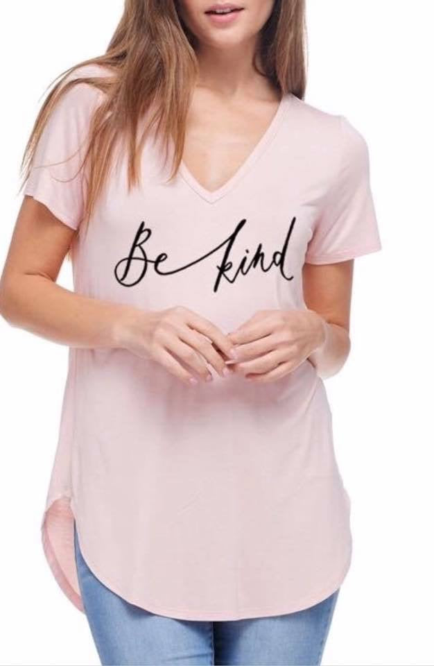 """BE KIND"" graphic tee (plus available)"