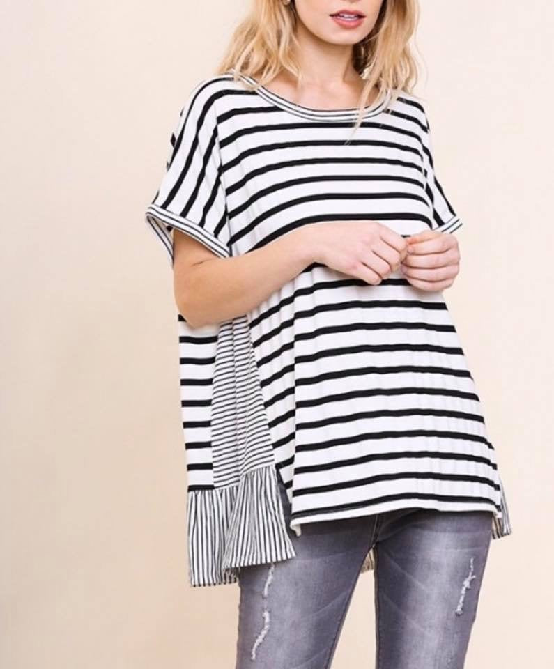 Umgee striped tee