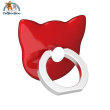 360 Degree Finger Ring Stand Holder For Smartphone Red 5093004