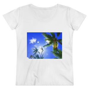 Blue Sky & Palms Organic Women's Lover T-shirt