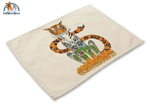 Artistic Animals Placemats 3 / 42X32Cm 100003327