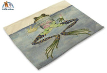 Artistic Animals Placemats 4 / 42X32Cm 100003327