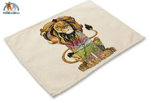 Artistic Animals Placemats 9 / 42X32Cm 100003327