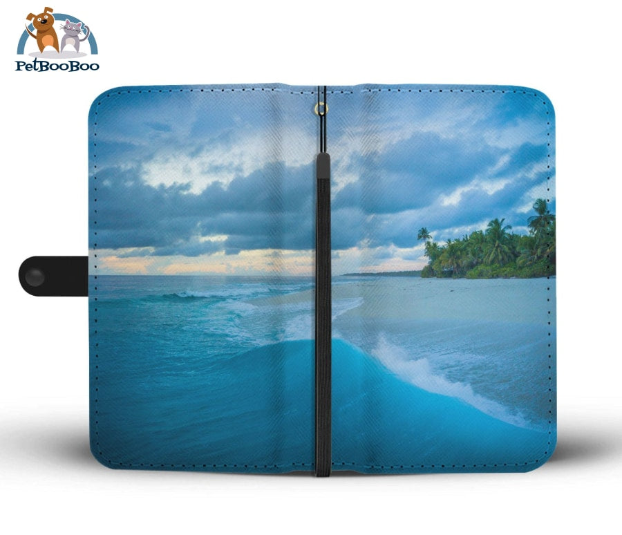 Beach Wallet Phone Case Iphone 8