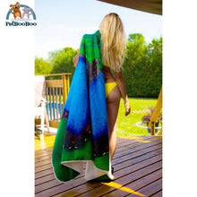 Behind The Door Hooded Blanket